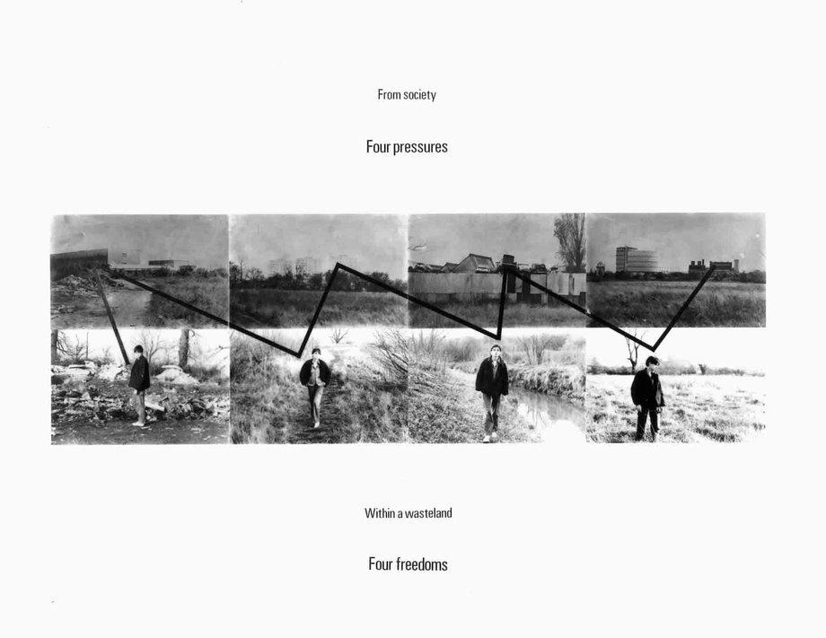 Stephen Willats: Four Pressures - Four Freedoms