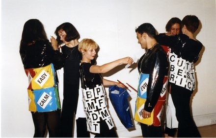 Stephen Willats: New Directions - Multiple Clothing, Multiple Clothing Event, ICA, London, 1993