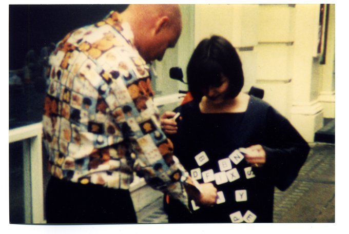 Stephen Willats: Positive Feedback - Multiple Clothing, Multiple Clothing Event, Cork Street, London 1998
