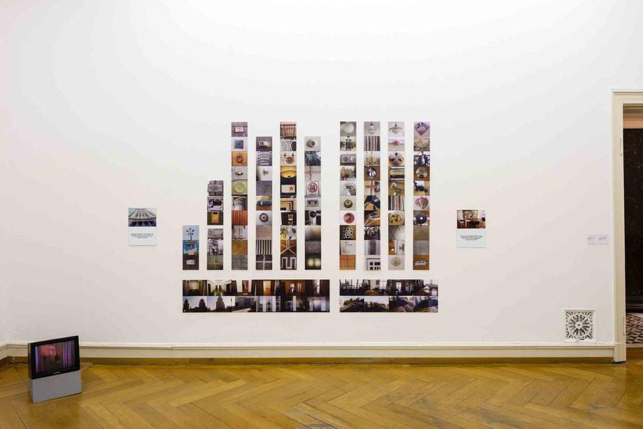 Stephen Willats: Reise in den Ideologischen Turm - Journey into the Ideological Tower, Installation at Villa Merkel Image die arge lola