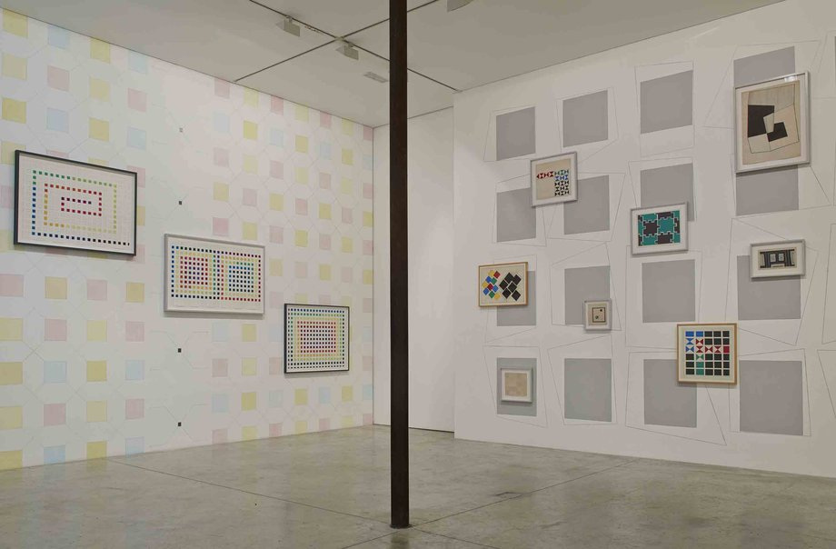Stephen Willats: Representing the Possible - images from exhibition at Victoria Miro Gallery