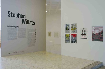 Stephen Willats: Man From the 21st Century, images from the exhibition at Tamayo Museum