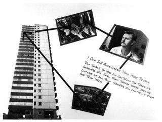 Stephen Willats: Brentford Towers, Display Board