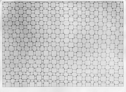 Stephen Willats: Homeostat Drawing