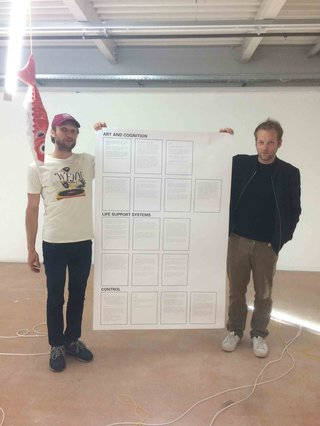 Stephen Willats: Art Cognition Manifesto, At University of the Arts, Lausanne