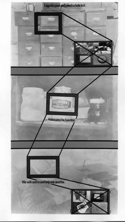 Stephen Willats: Working Within a Defined Context, Panel Two