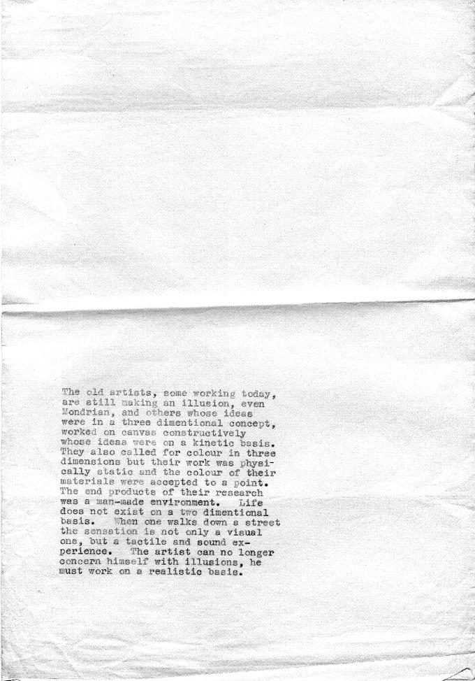 Manifesto Text